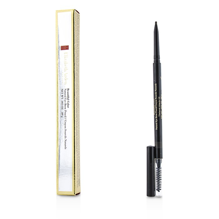 Elizabeth Arden Beautiful Color Natural Eye Brow Pencil - # 04 Natural Black 0.09g