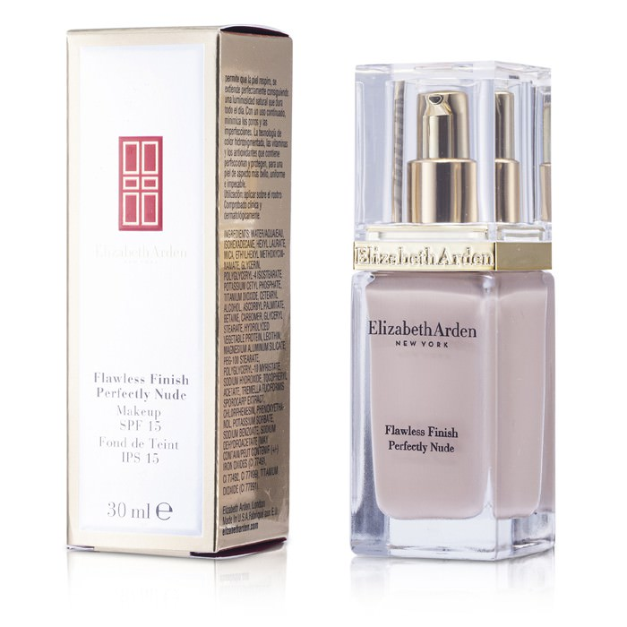 Elizabeth Arden Flawless Finish Perfectly Nude Makeup SPF 15 - # 04 Cream Nude 30ml