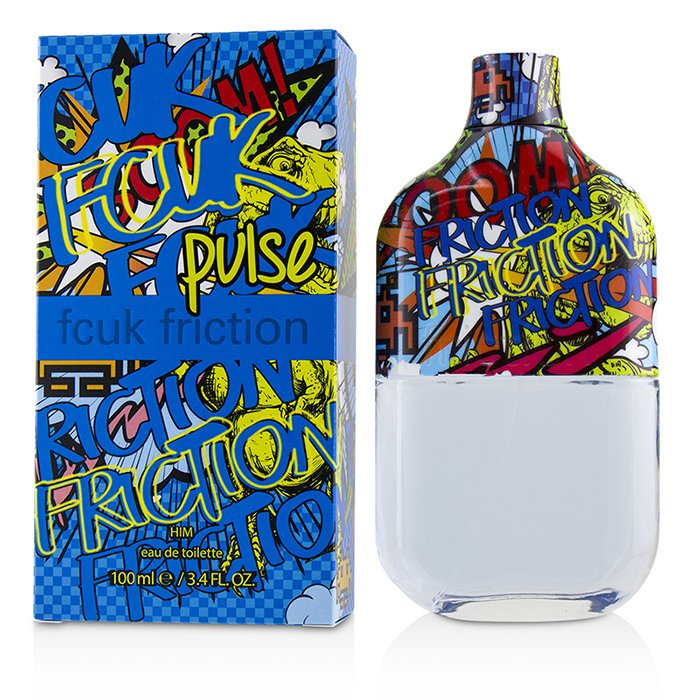 French Connection UK FCUK Friction Pulse Eau De Toilette Spray 100ml