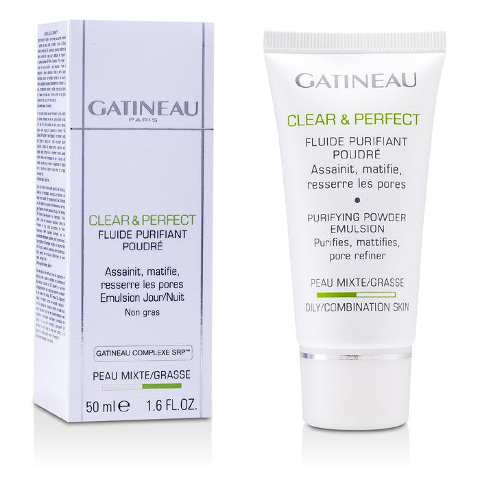 Gatineau Clear & Perfect Purifying Powder Emulsion (For Oily/Combination Skin) 50ml