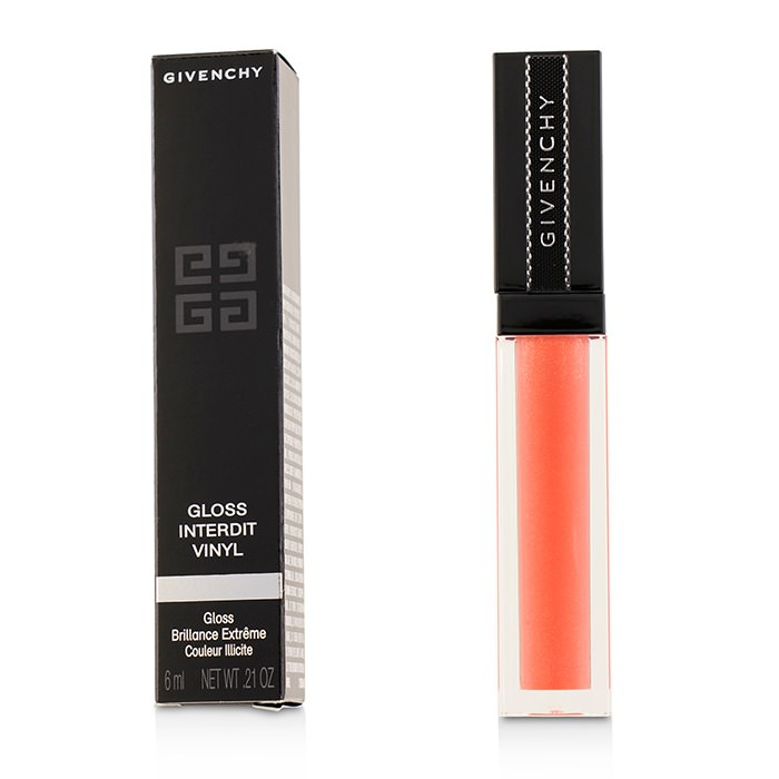 Givenchy Gloss Interdit Vinyl - # 08 Corail Graffiti 6ml