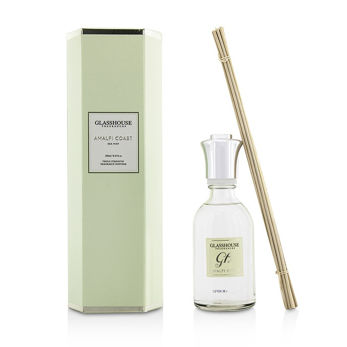 Glasshouse Triple Strength Fragrance Diffuser - Amalfi Coast (Sea Mist) 250ml