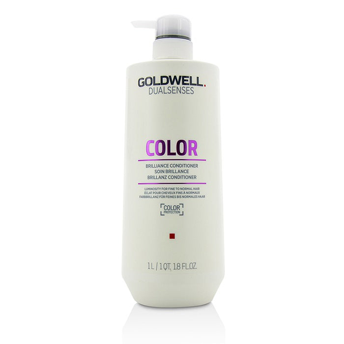 Goldwell Dual Senses Color Brilliance Conditioner (Luminosity For Fine to Normal Hair) 1000ml