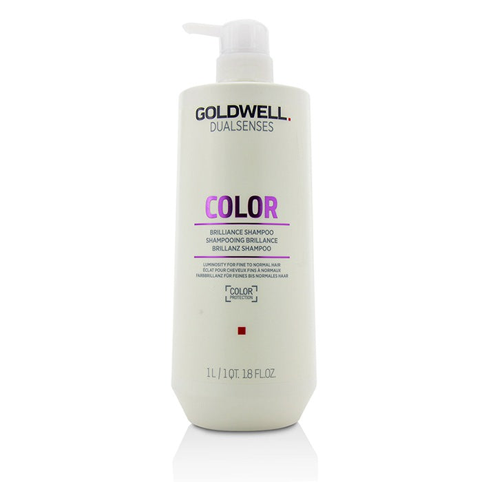 Goldwell Dual Senses Color Brilliance Shampoo (Luminosity For Fine to Normal Hair) 1000ml