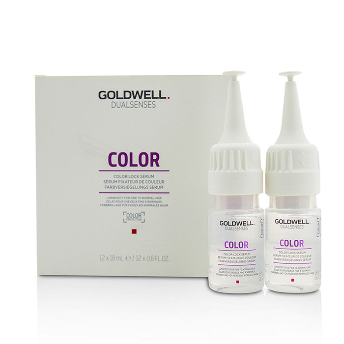 Goldwell Dual Senses Color Color Lock Serum (Luminosity For Fine to Normal Hair) 12x18ml