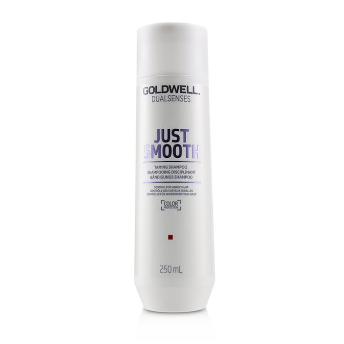 Goldwell Dual Senses Just Smooth Taming Shampoo (Control For Unruly Hair) 250ml