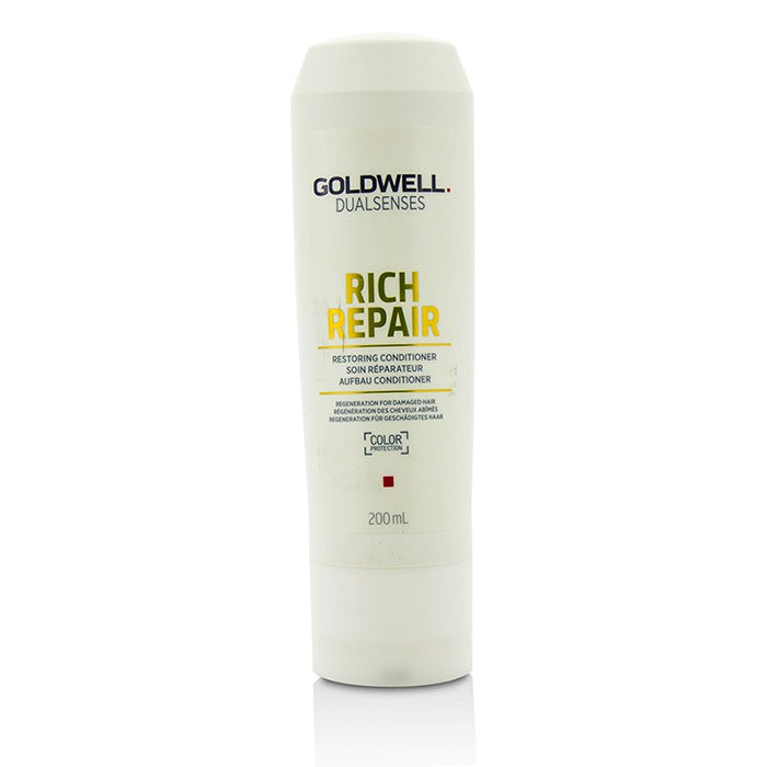 Goldwell Dual Senses Rich Repair Restoring Conditioner (Regeneration For Damaged Hair) 200ml