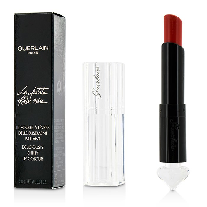 Guerlain La Petite Robe Noire Deliciously Shiny Lip Colour - #020 Poppy Cap 2.8g
