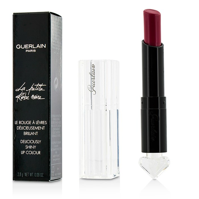 Guerlain La Petite Robe Noire Deliciously Shiny Lip Colour - #066 Berry Beret 2.8g