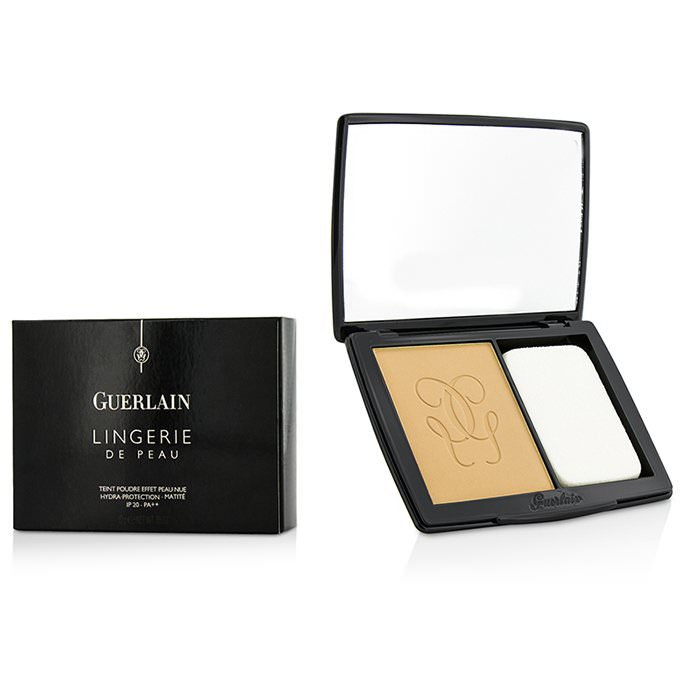 Guerlain Lingerie De Peau Nude Powder Foundation SPF 20 - # 13 Rose Naturel 10g