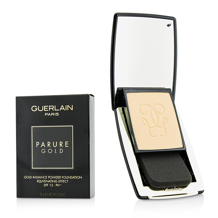 Guerlain Parure Gold Rejuvenating Gold Radiance Powder Foundation SPF 15 - # 02 Beige Clair 10g