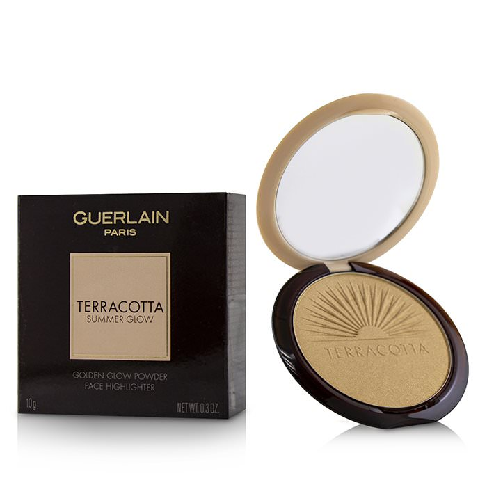 Guerlain Terracotta Summer Glow Face Highlighter Powder - # Golden Glow 10g