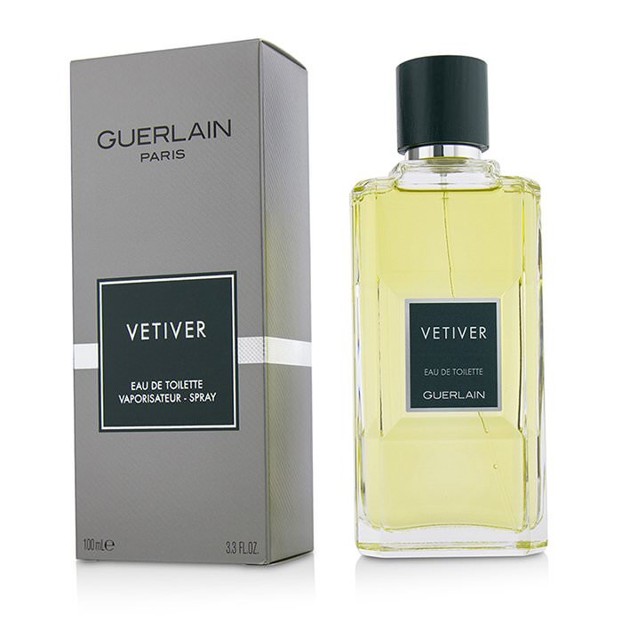 Guerlain Vetiver Eau De Toilette Spray (New Packaging) 100ml