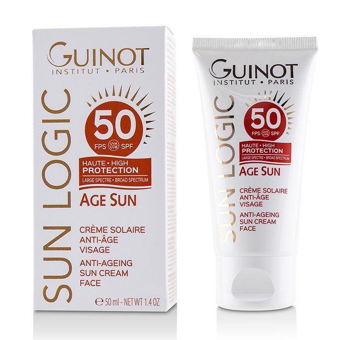 Guinot Sun Logic Age Sun Anti-Ageing Sun Cream For Face SPF 50 50ml