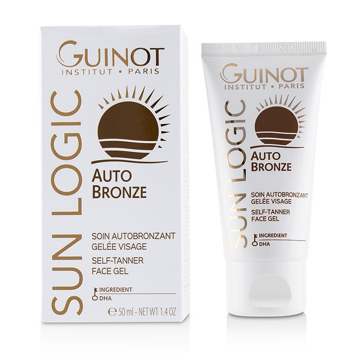 Guinot Sun Logic Auto Bronze Self-Tanner Face Gel 50ml