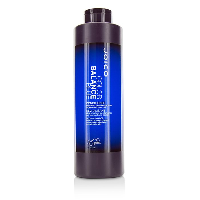 Joico Color Balance Blue Conditioner (Eliminates Brassy/Orange Tones on Lightened Brown Hair) 1000ml