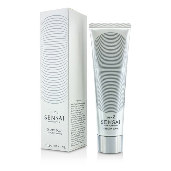 Kanebo Sensai Silky Purifying Creamy Soap (New Packaging) 125ml