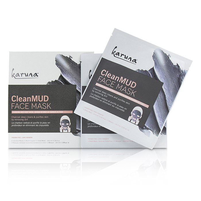Karuna CleanMud Face Mask 4sheets