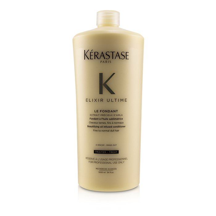 Kerastase Elixir Ultime Le Fondant Beautifying Oil Infused Conditioner (Fine to Normal Dull Hair) 1000ml