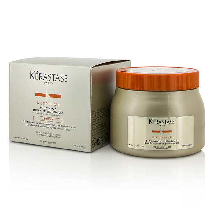 Kerastase Nutritive Protocole Immunité Sécheresse Soin N°1 Durable Nourishment Anchoring Care (For All Dry Hair) 500ml