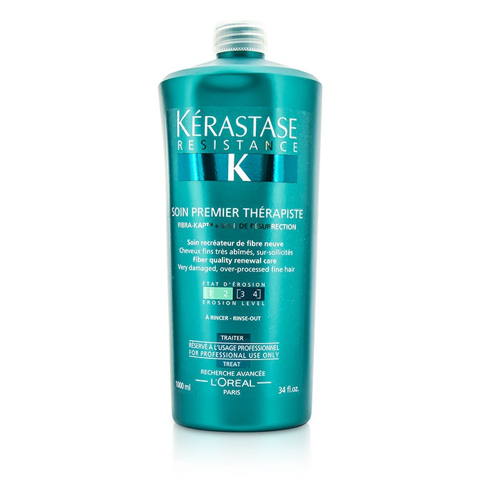 Kerastase Resistance Soin Premier Therapiste Fiber Quality Renewal Care (For Very Damaged, Over-Porcessed Fine Hair) 1000ml