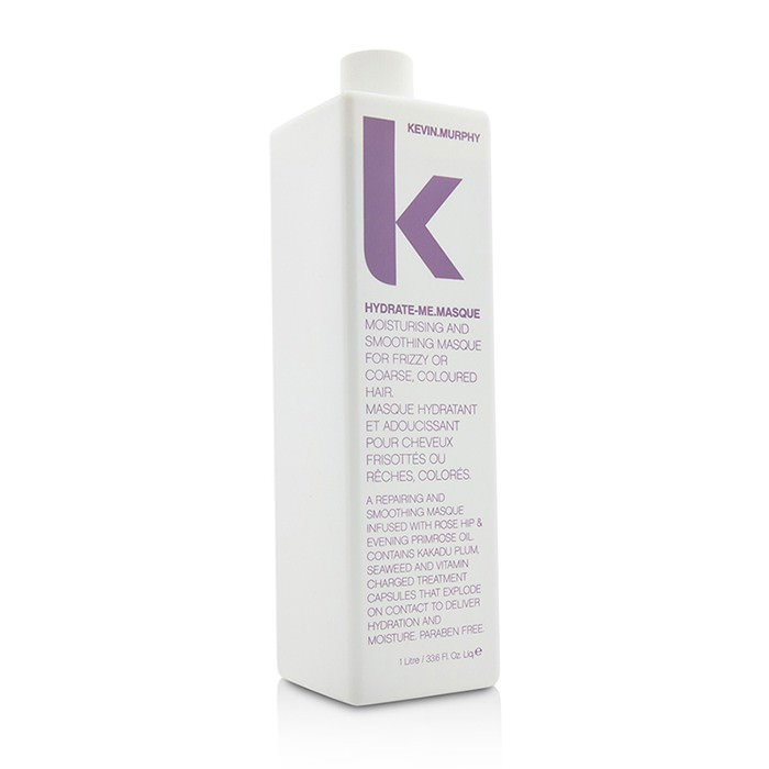 Kevin.Murphy Hydrate-Me.Masque (Moisturizing and Smoothing Masque - For Frizzy or Coarse, Coloured Hair) 1000ml