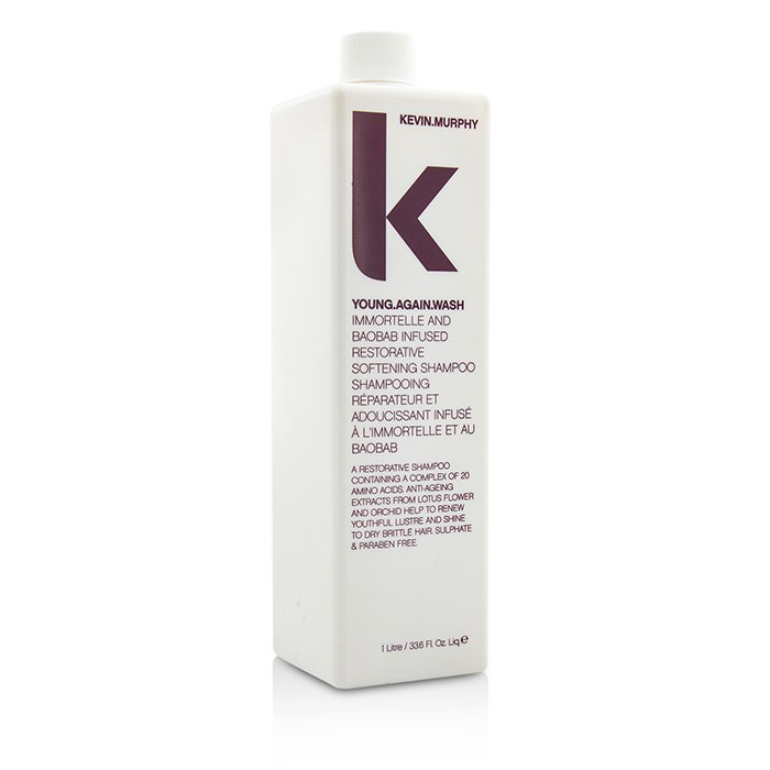 Kevin.Murphy Young.Again.Wash (Immortelle and Baobab Infused Restorative Softening Shampoo - To Dry Brittle Hair) 1000ml