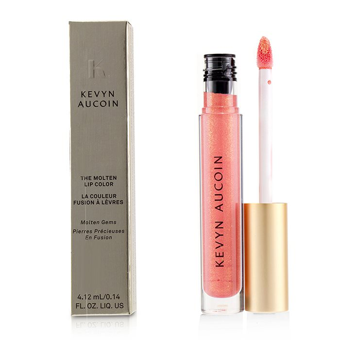 Kevyn Aucoin The Molten Lip Color Molten Gems - # Poppy Topaz 4.12ml