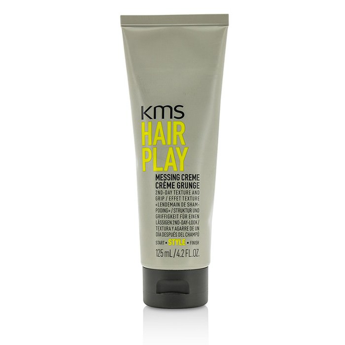 KMS California Hair Play Messing Creme (Provides 2nd-Day Texture and Grip) 125ml