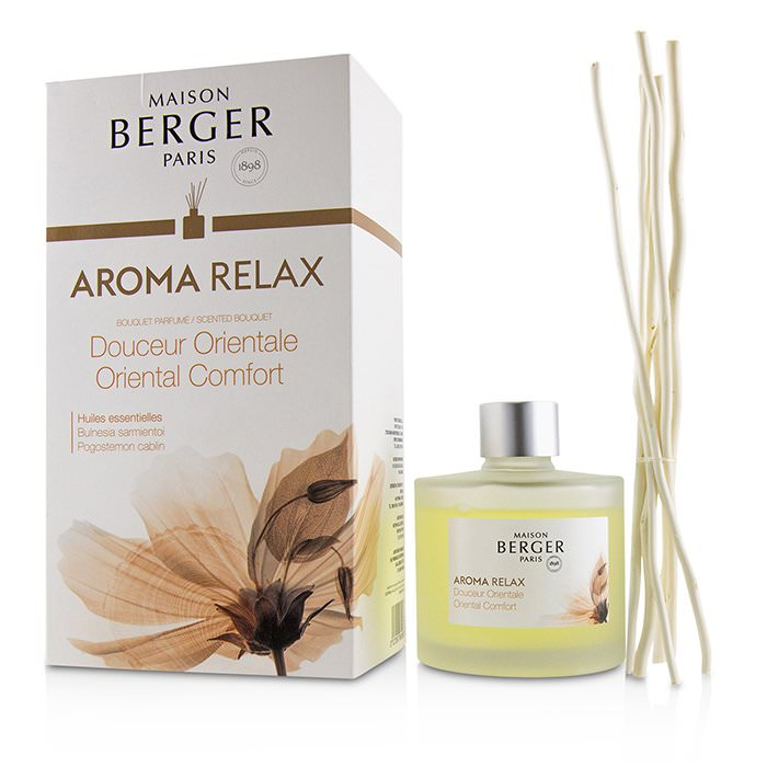 Lampe Berger Scented Bouquet - Aroma Relax (Pogostemon Cablin) 180ml