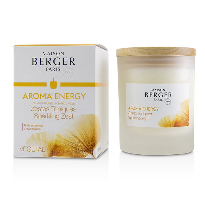 Lampe Berger Scented Candle - Aroma Energy (Citrus Paradisi) 180g