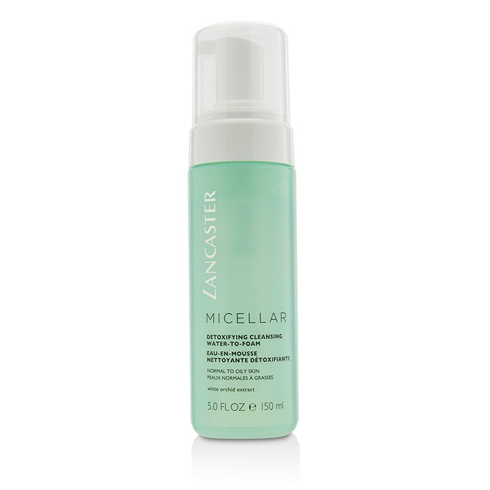 Lancaster Micellar Detoxifying Cleansing Water-To-Foam - Normal to Oily Skin, Including Sensitive Skin 150ml