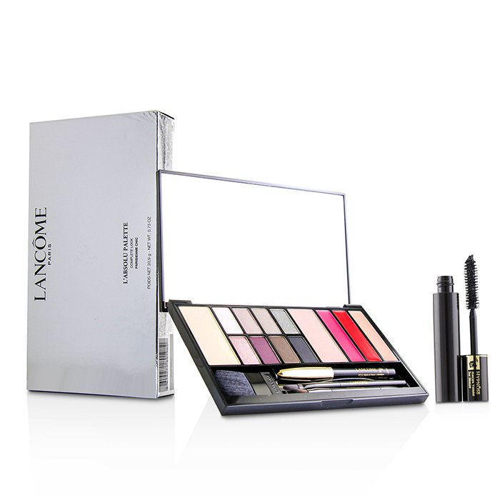 Lancome L'absolu Palette Complete Look - # Parisienne Chic (13x Shades, 1x Mini Eye Pencil, 1x Mini Mascara) 20.9g