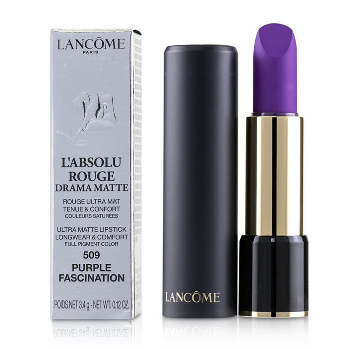 Lancome L'Absolu Rouge Drama Matte Lipstick - # 509 Purple Fascination 3.4g