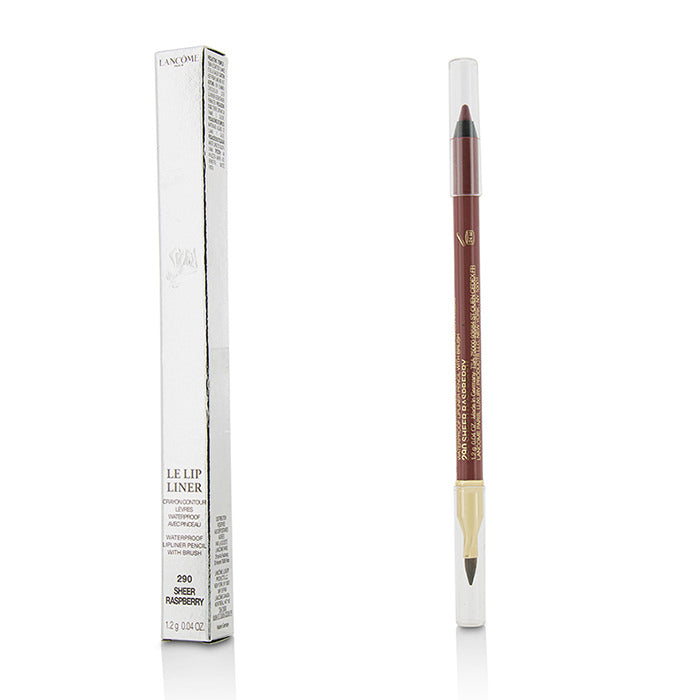 Lancome Le Lip Liner Waterproof Lip Pencil With Brush - #290 Sheer Raspberry 1.2g