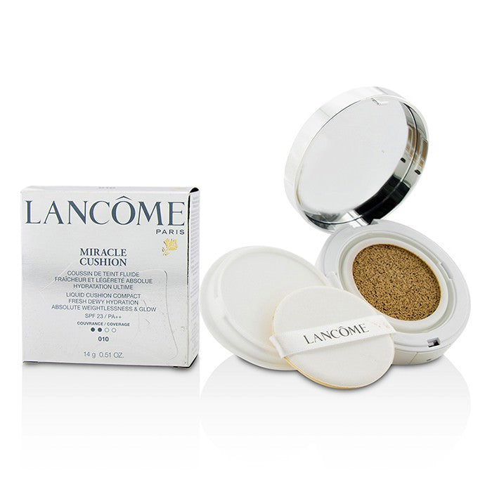 Lancome Miracle Cushion Liquid Cushion Compact SPF 23 - # 010 Albatre 14g