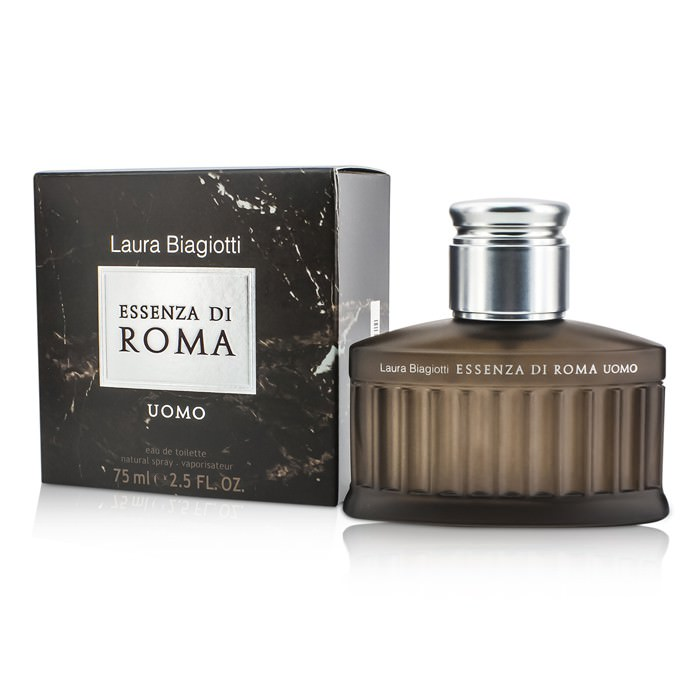 Laura Biagiotti Essenza Di Roma Uomo Eau De Toilette Spray 75ml