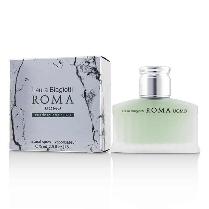 Laura Biagiotti Roma Uomo Eau De Toilette Cedro Spray 75ml