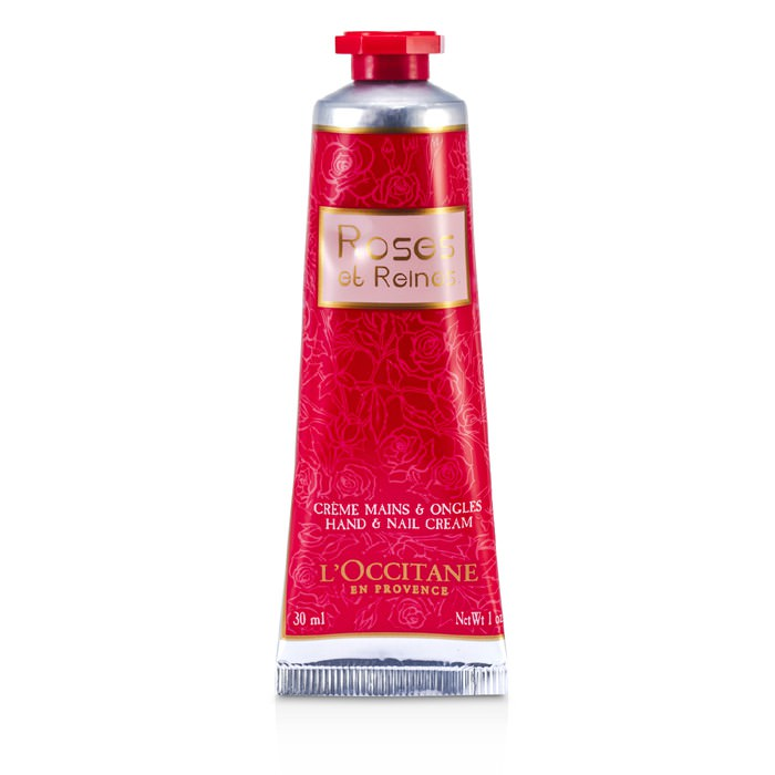 L'Occitane Roses Et Reines Hand & Nail Cream (Travel Size) 30ml