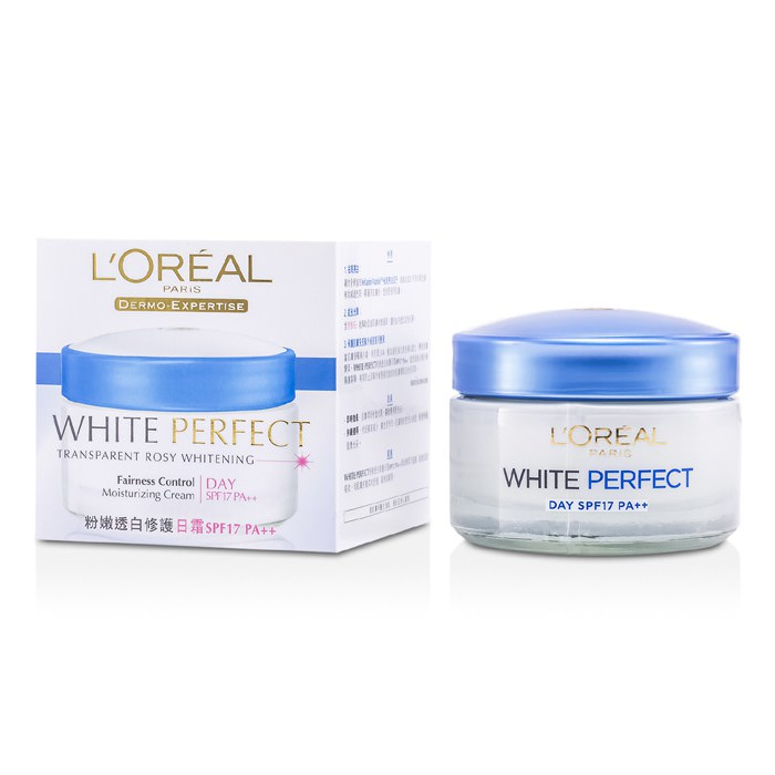 L'Oreal Dermo-Expertise White Perfect Fairness Control Moisturizing Cream Day SPF17 PA++ 50ml