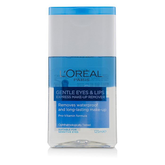 L'Oreal Gentle Eyes & Lips Express Make-Up Remover 125ml