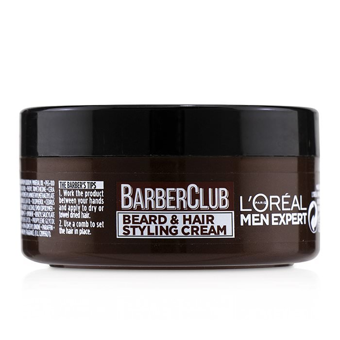L'Oreal Men Expert Barber Club Beard & Hair Styling Cream 75ml