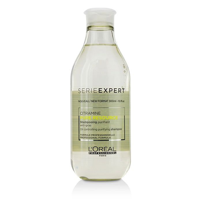 L'Oreal Professionnel Serie Expert - Pure Resource Citramine Oil Controlling Purifying Shampoo 300ml