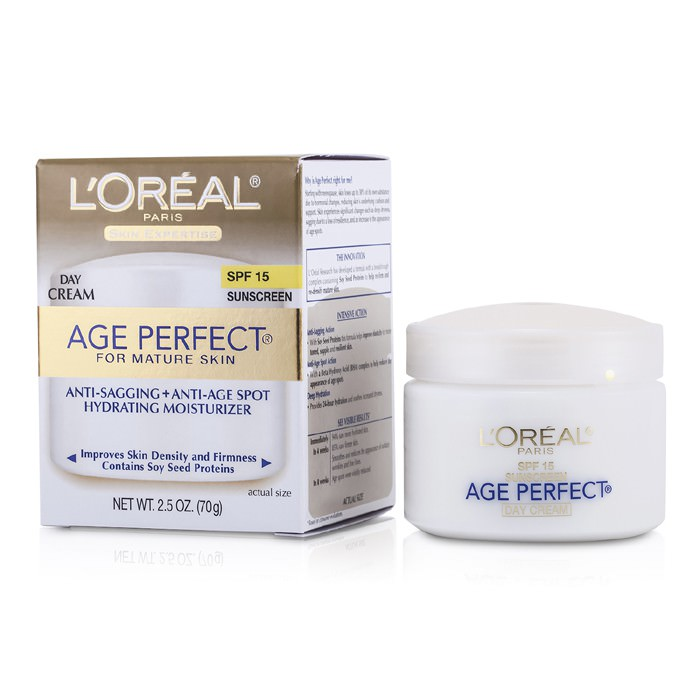 L'Oreal Skin-Expertise Age Perfect Hydrating Moisturizer SPF 15 (For Mature Skin) 70g