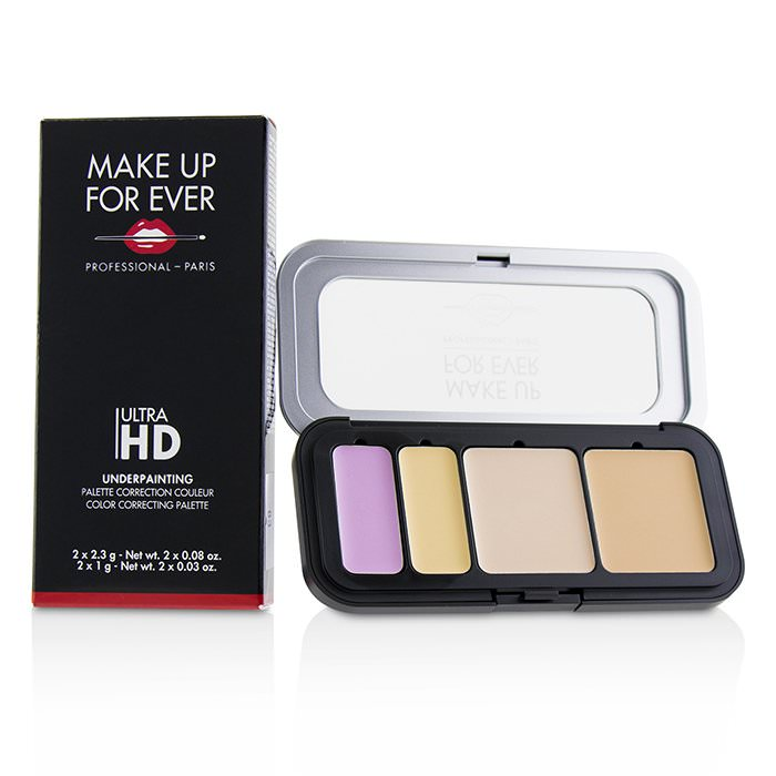 Make Up For Ever Ultra HD Underpainting Color Correcting Palette - # Very Light 6.6g
