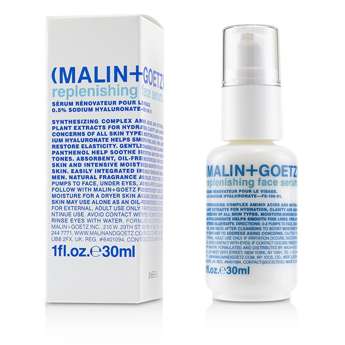 MALIN+GOETZ Replenishing Face Serum 30ml