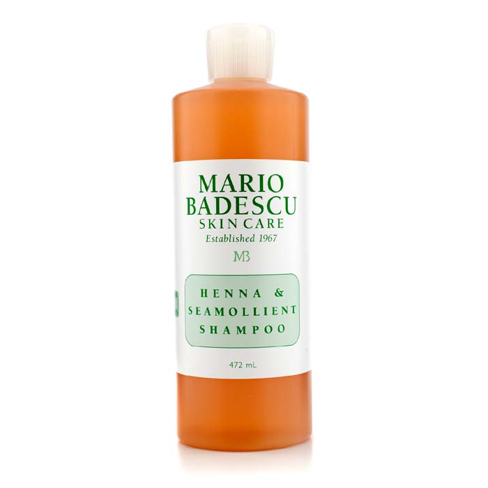 Mario Badescu Henna & Seamollient Shampoo (For All Hair Types) 472ml