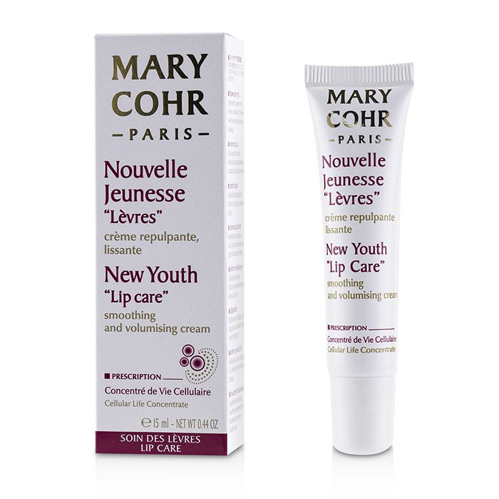 Mary Cohr New Youth Lip Care Smoothing & Volumising Cream 15ml