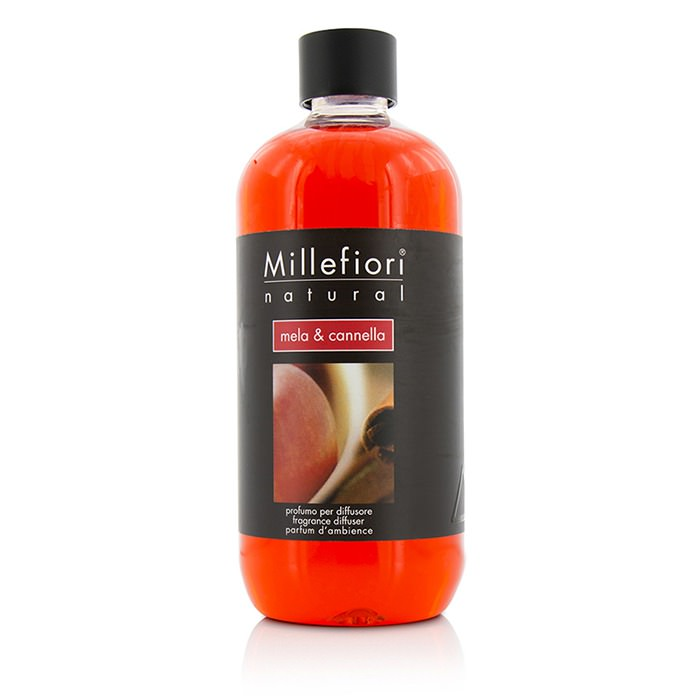Millefiori Natural Fragrance Diffuser Refill - Mela & Cannella 500ml