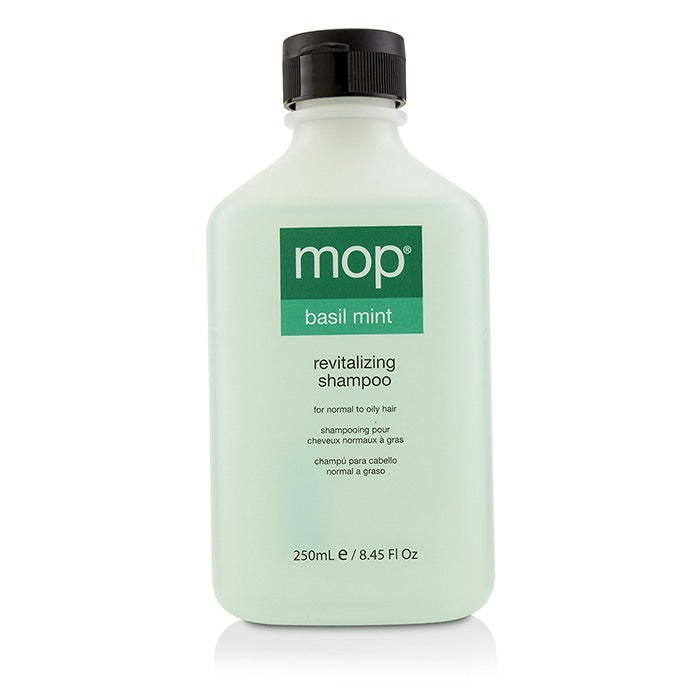MOP Basil Mint Revitalizing Shampoo (For Normal to Oily Hair) 250ml